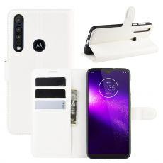 LN Flip Wallet Motorola One Macro white