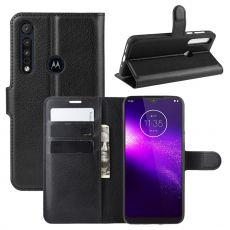 LN Flip Wallet Motorola One Macro black