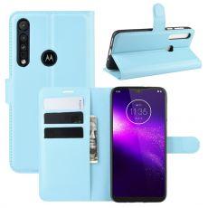 LN Flip Wallet Motorola One Macro blue