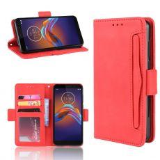 LN Flip Wallet 5card Moto E6 Play red