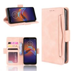 LN Flip Wallet 5card Moto E6 Play pink