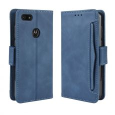 LN Flip Wallet 5card Moto E6 Play blue