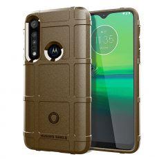 LN Rugged Case Motorola One Macro brown