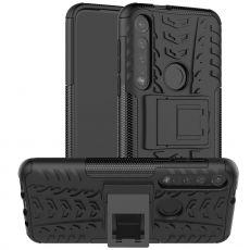 LN suojakuori tuella Moto G8 Plus black