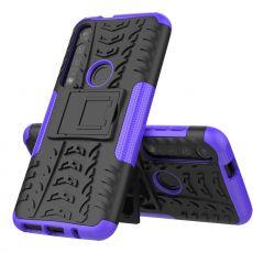 LN suojakuori tuella Moto G8 Plus purple