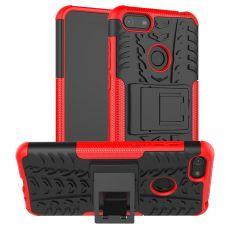 LN kuori tuella Moto E6 Play red