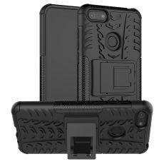 LN kuori tuella Moto E6 Play black