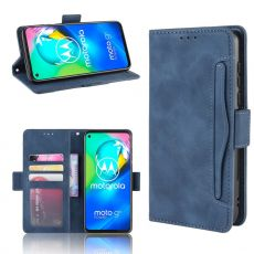 LN 5card Flip Wallet Moto G8 Power blue