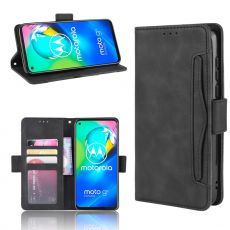 LN 5card Flip Wallet Moto G8 Black