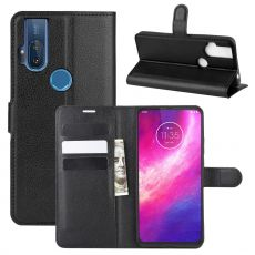 LN Flip Wallet Motorola One Hyper Black