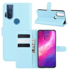 LN Flip Wallet Motorola One Hyper Blue