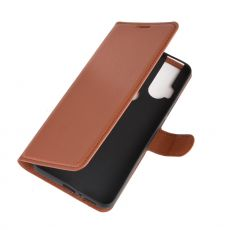 LN Flip Wallet Motorola One Hyper Brown
