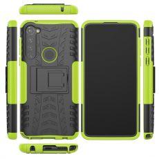 LN suojakuori tuella Moto G Pro Green