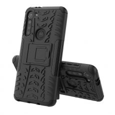 LN suojakuori tuella Moto G8 Power Black
