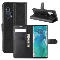 LN Flip Wallet Motorola Edge+ Black
