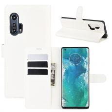 LN Flip Wallet Motorola Edge+ White
