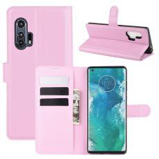 LN Flip Wallet Motorola Edge+ Pink