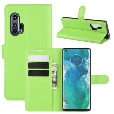 LN Flip Wallet Motorola Edge+ Green