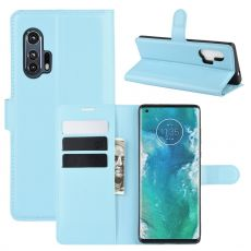 LN Flip Wallet Motorola Edge+ Blue