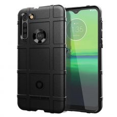LN Rugged Shield Moto G8 Black