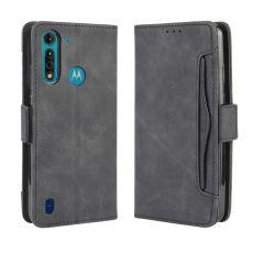 LN 5card Flip Wallet Moto G8 Power Lite Black