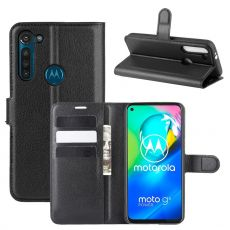 LN Flip Wallet Moto G8 Power Black