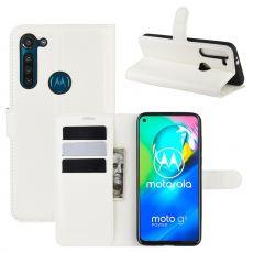 LN Flip Wallet Moto G8 Power White