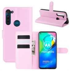 LN Flip Wallet Moto G8 Power Pink