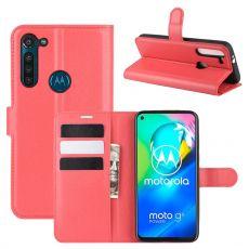 LN Flip Wallet Moto G8 Power Red