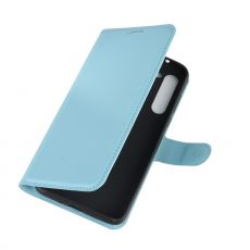 LN Flip Wallet Moto G8 Power Blue