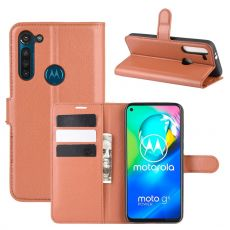 LN Flip Wallet Moto G8 Power Brown
