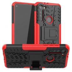 LN suojakuori tuella Moto G8 Red