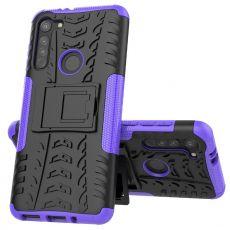 LN suojakuori tuella Moto G8 Purple