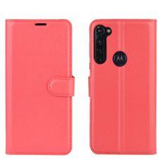 LN Flip Wallet Moto G Pro Red