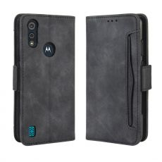 LN 5card Flip Wallet Moto E6s Black