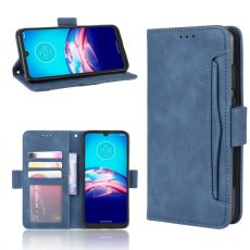 LN 5card Flip Wallet Moto E6s Blue