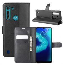 LN Flip Wallet Moto G8 Power Lite Black