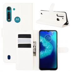 LN Flip Wallet Moto G8 Power Lite White