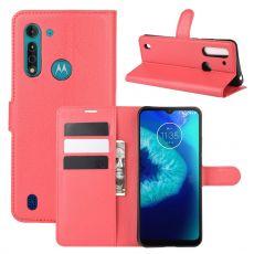 LN Flip Wallet Moto G8 Power Lite Red