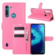 LN Flip Wallet Moto G8 Power Lite Rose