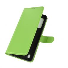 LN Flip Wallet Moto G8 Power Lite Green
