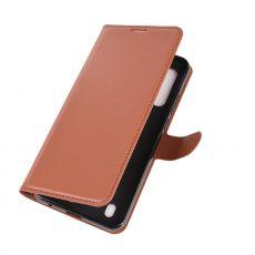 LN Flip Wallet Moto G8 Power Lite Brown