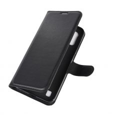 LN Flip Wallet Moto E6s Black