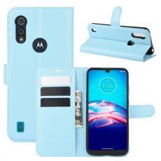 LN Flip Wallet Moto E6s Blue