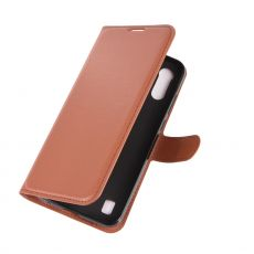 LN Flip Wallet Moto E6s Brown