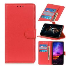 LN Flip Wallet Motorola Edge Red