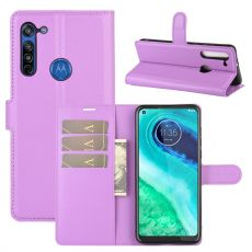 LN Flip Wallet Moto G8 Purple