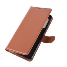 LN Flip Wallet Moto G8 Brown