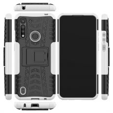 LN kuori tuella Moto G8 Power Lite White