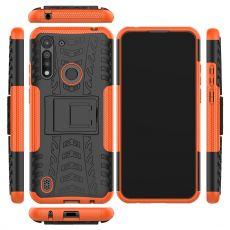 LN kuori tuella Moto G8 Power Lite Orange